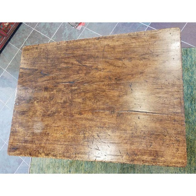 Rustic French Oak Coffee Table For Sale - Image 9 of 10