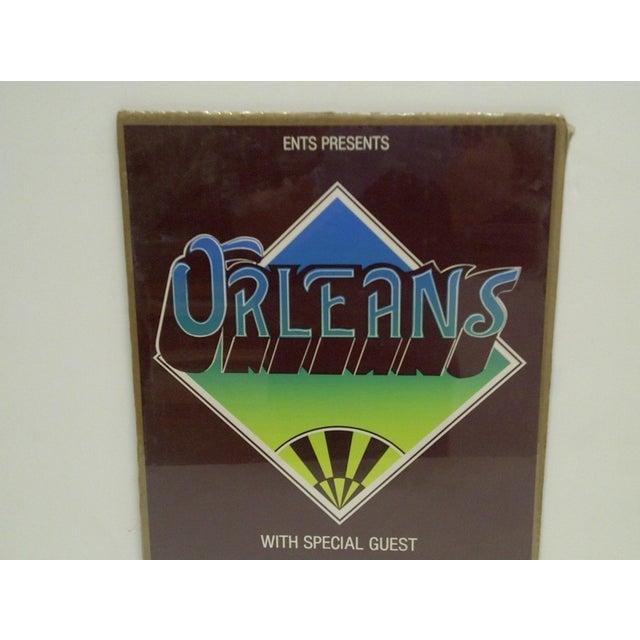 "American Vintage ""Orleans"" Concert Poster For Sale - Image 3 of 4"