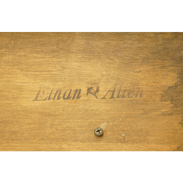 20th Century Georgian Ethan Allen Accent End / Tea Table For Sale - Image 12 of 13