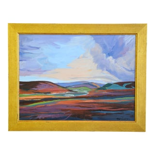Ray Cuevas, Plein Air River Landscape Oil Painting For Sale