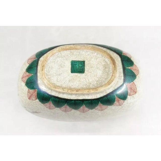 Antique Kutani Floral Vase For Sale - Image 11 of 11