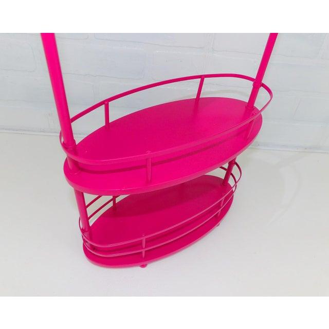 Pink Vanity Mirror & Shelf For Sale - Image 9 of 10