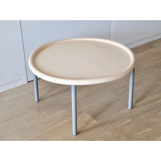 Round coffee table designed by Wrong for Hay. This was part of the collection between Danish design brand HAY and London-...
