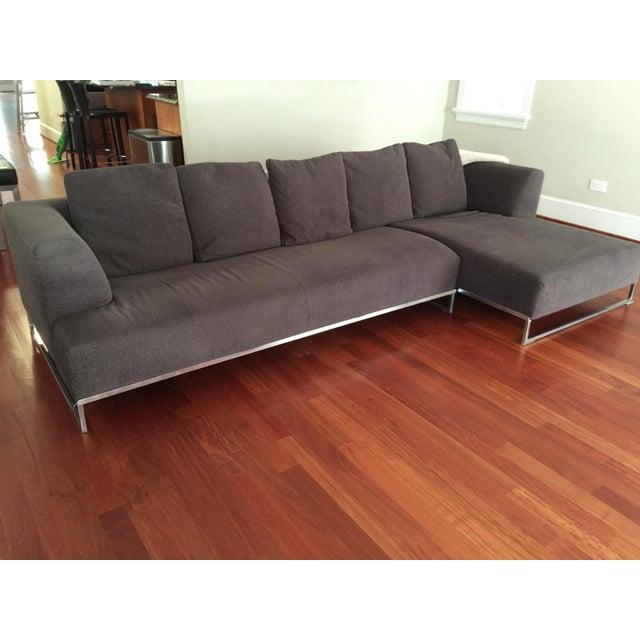B&B Italia Antonio Citterio Solo Sofa - Image 2 of 9