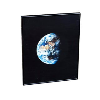 Framed Photography- View of the Earth From Apollo 11 For Sale