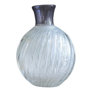 1950s Murano Glass Vase by Archimede Seguso For Sale