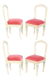 Image of Baby Blue Side Chairs