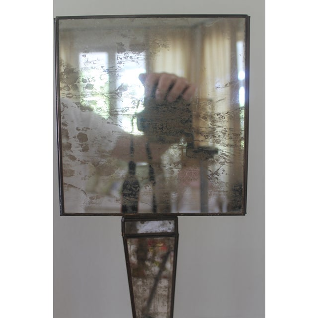 Worlds Away Worlds-Away Mirrored Lamp For Sale - Image 4 of 9