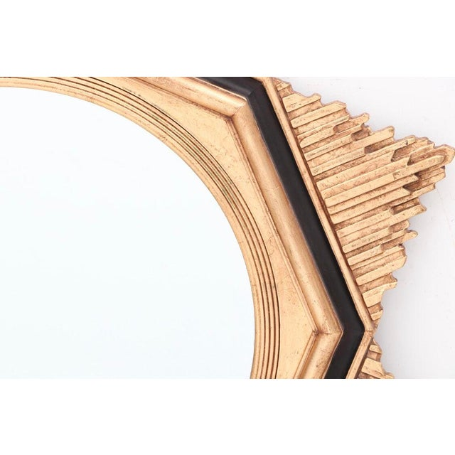Art Deco Friedman Brothers Art Deco Sunburst Mirror For Sale - Image 3 of 7