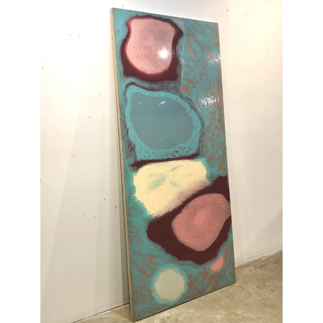 Contemporary Abstract Painting by Anita Wechsler For Sale - Image 3 of 6