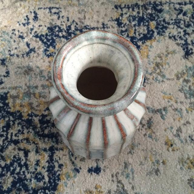 Mid-Century Modern Glazed Pottery Vase - Image 10 of 11
