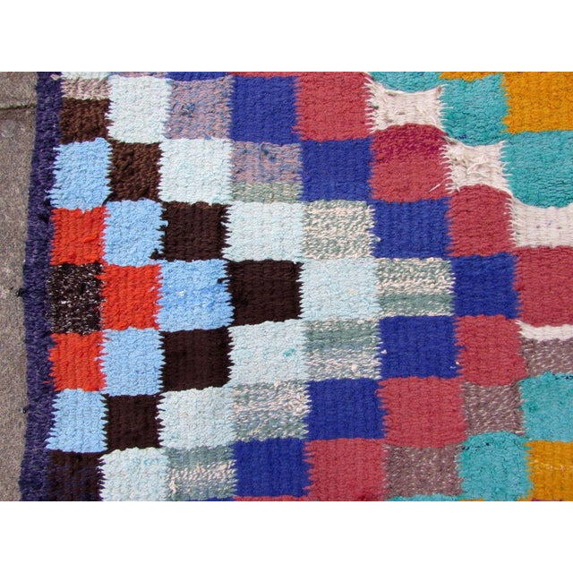 Persian 1970s Handmade Vintage Persian Ardabil Kilim - 4′3″ × 7′6″ For Sale - Image 3 of 13