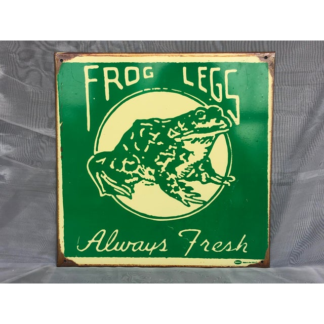 Made by the sign artist Marty Mummert, known for making distressed vintage style signs from 24 gauge steel and his own...