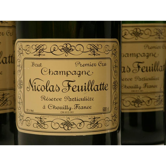 Set of 6 Nicolas Feuillatte Champagne Bottle Store Props - Image 5 of 10