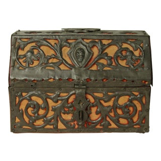 Antique Mizner Spanish Box Circa 1800 For Sale