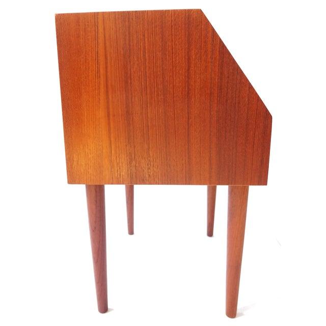 Danish Modern Teak Side Table - Image 4 of 8