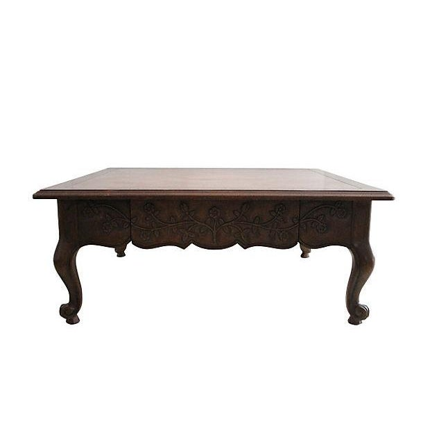 Drexel Heritage Parquetry Coffee Table - Image 1 of 4