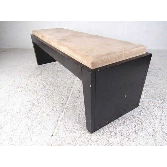 Modern Modern Decorator Bench For Sale - Image 3 of 11