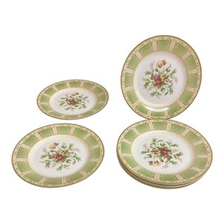 Royal Albert Old Country Roses Fine Bone Plates - Set of 6 For Sale