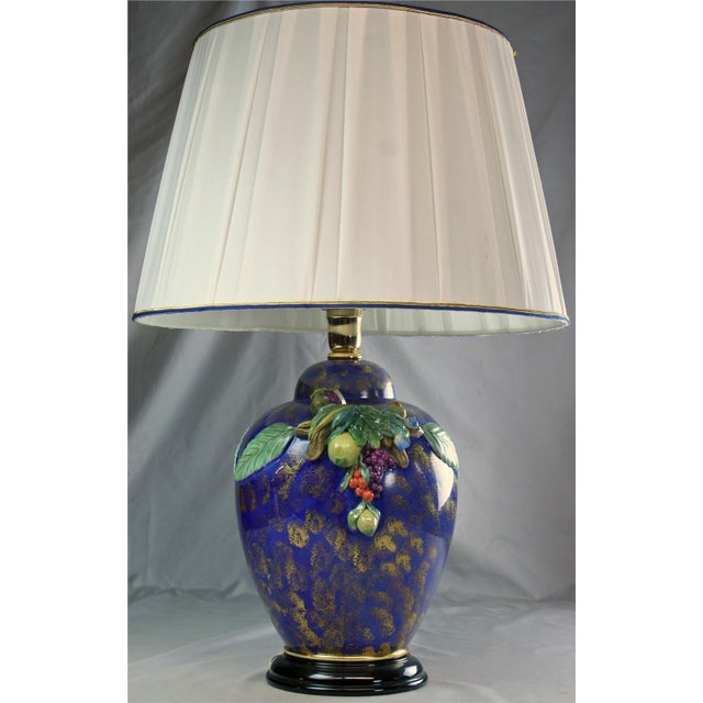 Item #: P-24 Overall measurements (inches) 31H x 22W x 22D Lamp 18.50H x 12W x 12D Shade 14H x 22W x 22D . If you love...