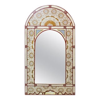 1990s Vintage Moroccan Wall Mirror For Sale