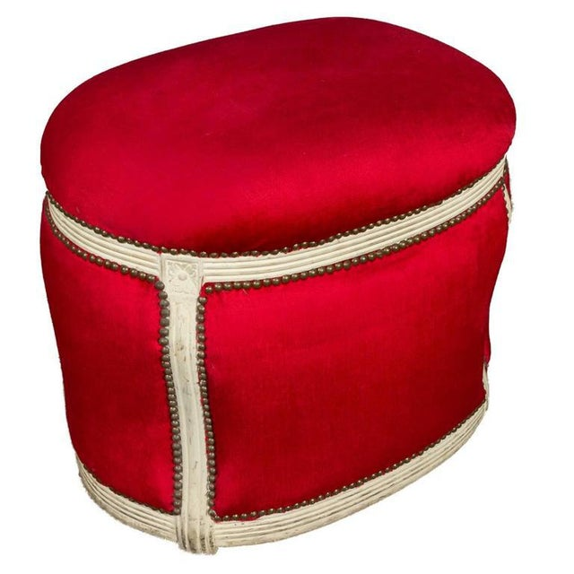 20th Century, French Footstool with Built in Dog Bed - Image 9 of 9