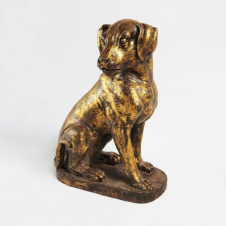 Cast Iron Gold Dog Preview