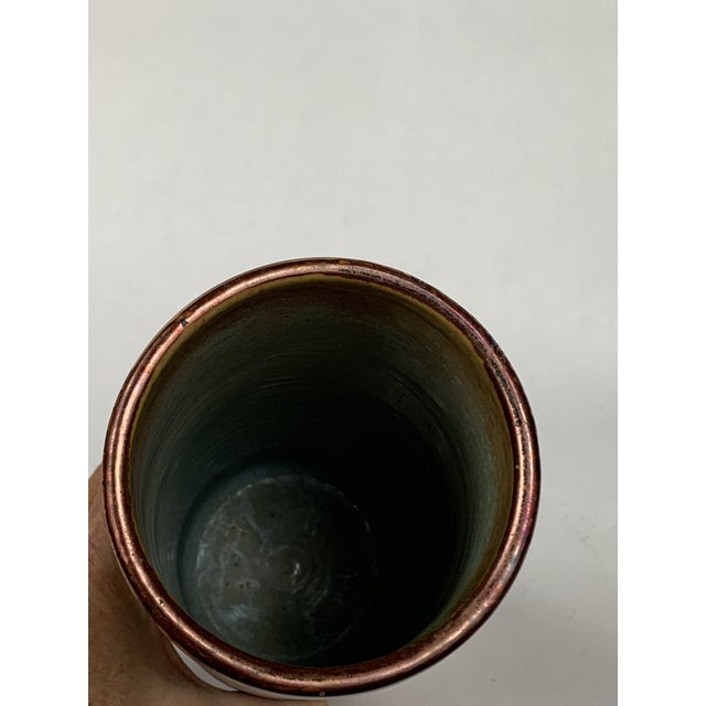 Mid 20th Century Hand Painted Vignoli Faenza Ceramic Pottery For Sale - Image 5 of 7