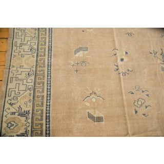 "Antique Distressed Chinese Square Carpet - 14'1"" x 14'1"" Preview"