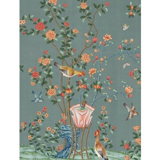 Casa Cosima Ming Fauna Wallpaper Mural - Sample For Sale