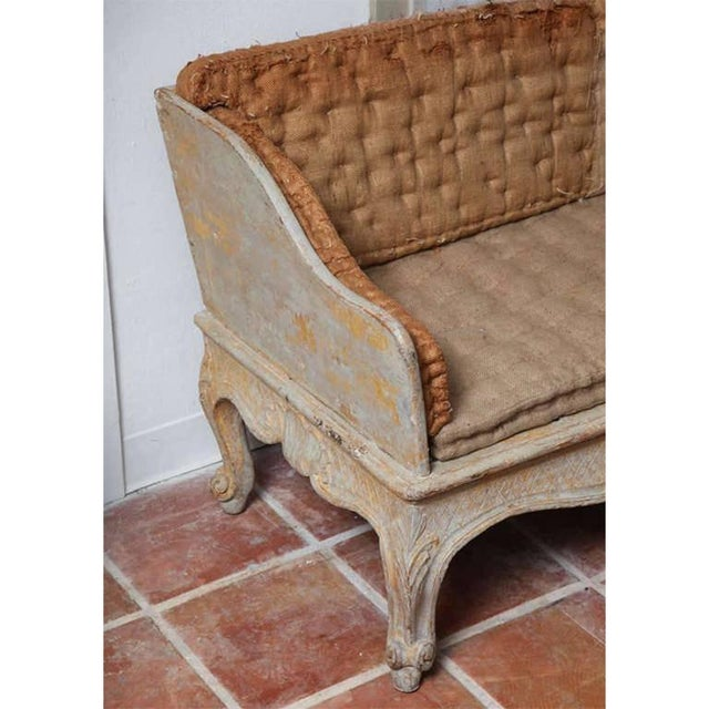 """Carved """"Trag Roccoco"""" Sofa For Sale - Image 4 of 6"""