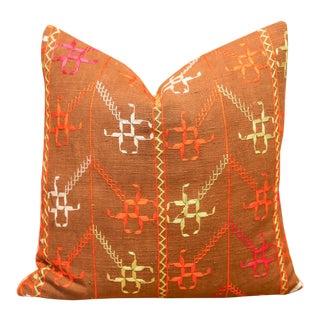 Siara Bagh Phulkari Pillow For Sale