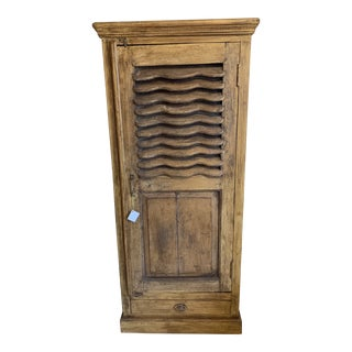 19th Century European Paneled Cabinet For Sale