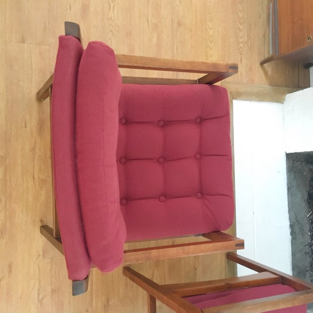 Mid-Century Side / Accent Chairs - Pair - Image 6 of 11