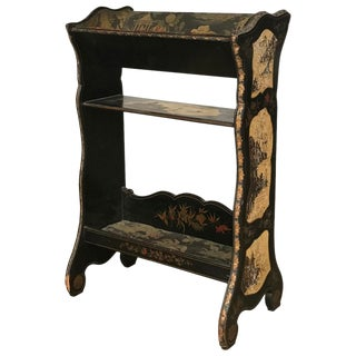 19th Century French Lacquered Book Stand For Sale