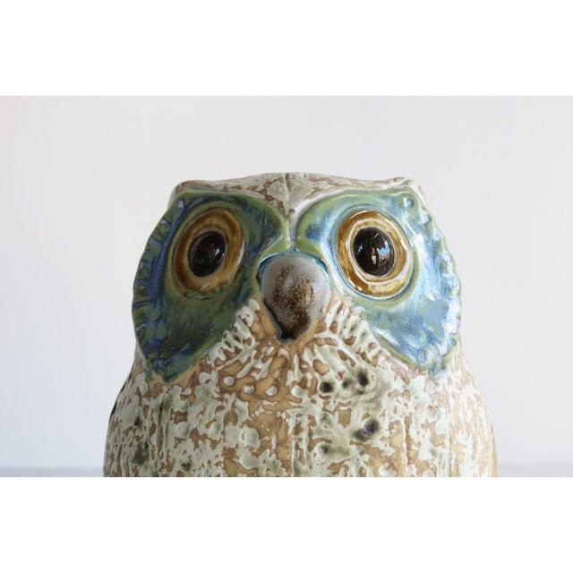 Ceramic Antonio Ballester A Lladró Little Eagle Owl Figurine For Sale - Image 7 of 10