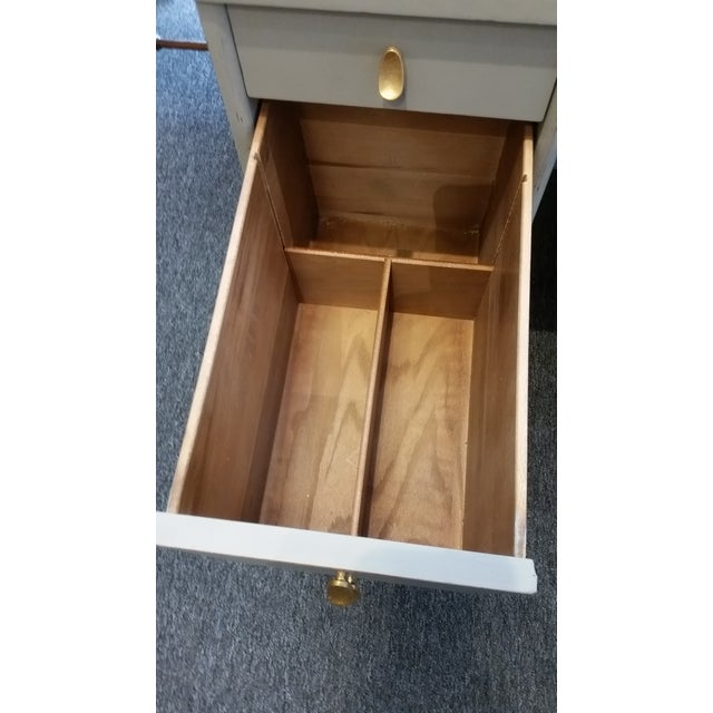 Mid-Century Modern Sligh-Lowry Partner Desk For Sale - Image 9 of 10