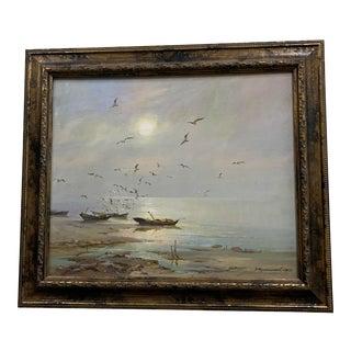 Original Schepetilnikov Painting on Canvas For Sale