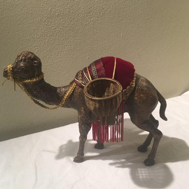 Crystal 1970s Hollywood Regency Decorative Camel For Sale - Image 7 of 7