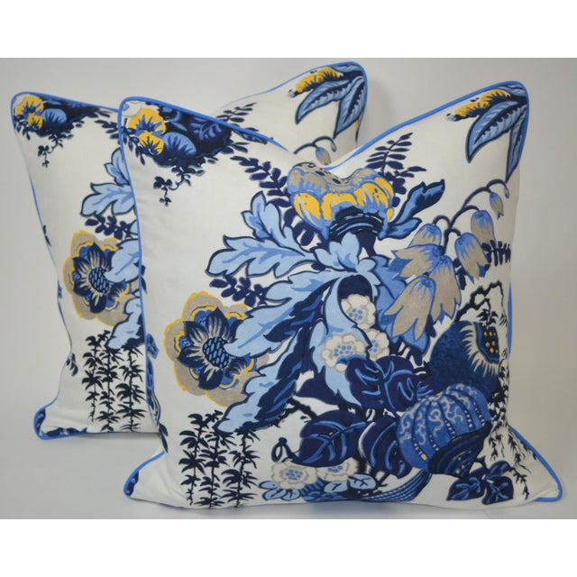 2020s Anna French Fairbanks Fabric Pillows - a Pair For Sale - Image 5 of 5