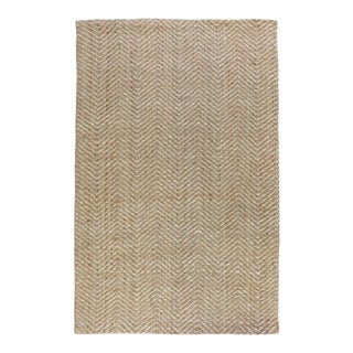 Zig Zag Natural/Bleach Rug - 5 X 8 For Sale