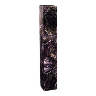 Phillips Collection Purple Amethyst Table Lamp For Sale