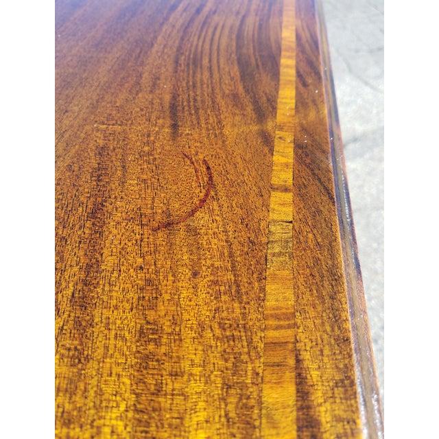 Mahogany Inlaid Georgian Sideboard For Sale - Image 7 of 12