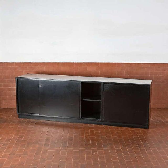 Italian Set of Three Cupboards by Osvaldo Borsani for Tecno For Sale - Image 3 of 10