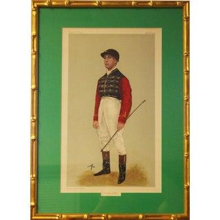 """""""A King's Jockey"""" Portrait For Sale"""