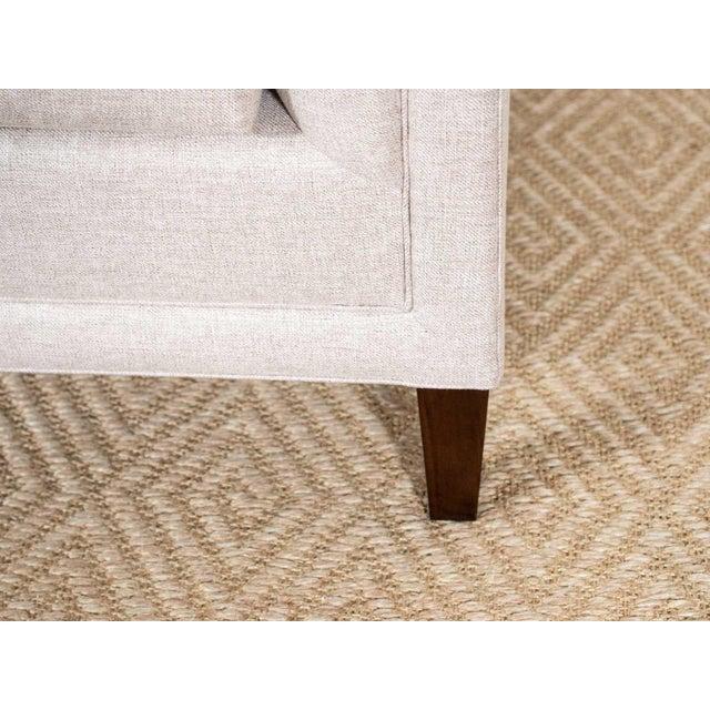 Modern EJ Victor Upholstered Debra Sofa on Legs For Sale - Image 3 of 7