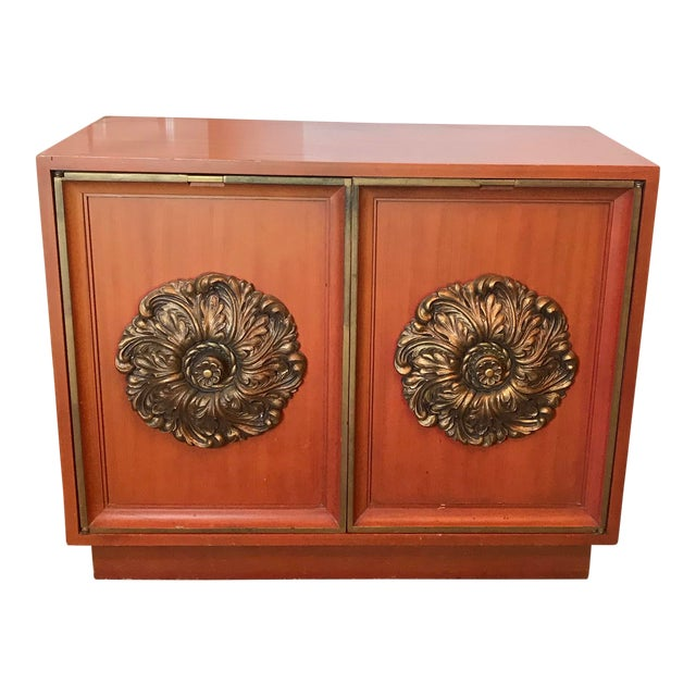 Mid-Century J. Mont Style Cabinet For Sale