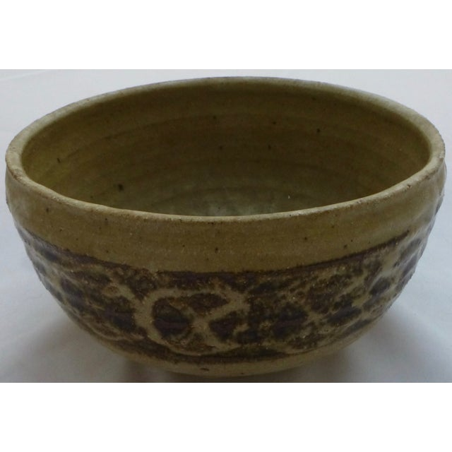 Mid-Century Studio Pottery Decorated Bowl - Image 9 of 11