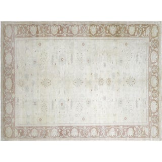 "Nalbandian - 1980s Egyptian Sultanabad Carpet - 10'2"" X 13'5"" For Sale"