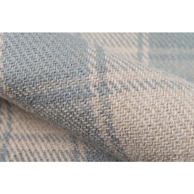 Erin Gates by Momeni Marlborough Charles Light Blue Hand Woven Wool Area Rug - 8' X 10' For Sale - Image 4 of 6